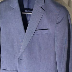 J. Ferrar 42R Slim Blue Suit Jacket